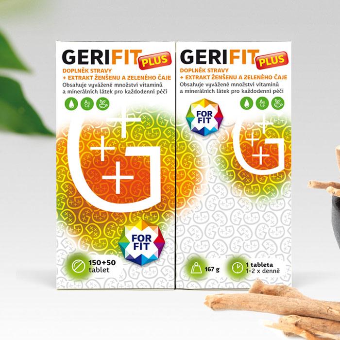 Gerifit PLUS – doplněk stravy