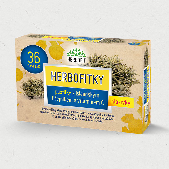 Herbofitky – bylinné bonbóny