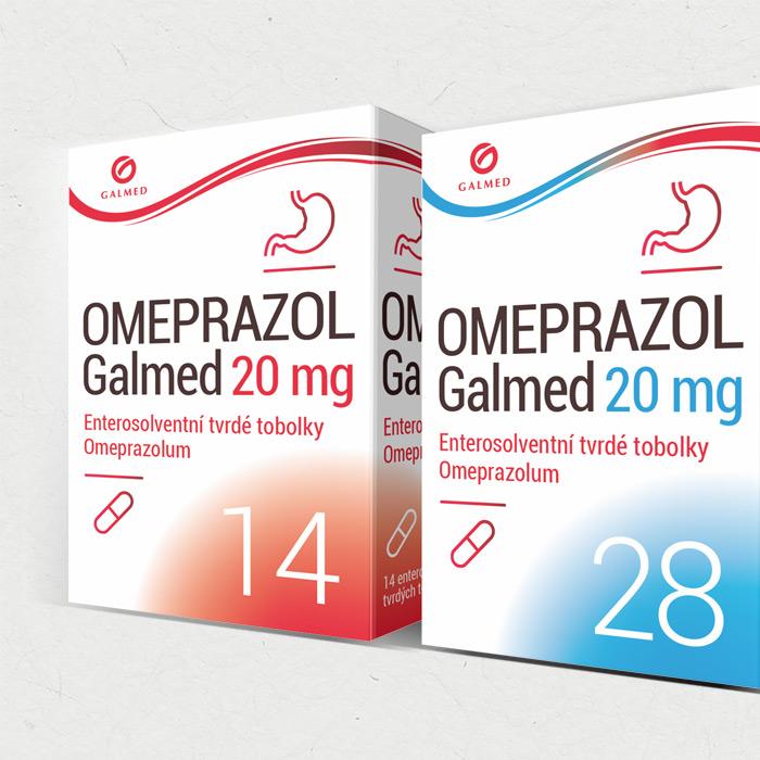 Omeprazol – 3 varianty balení