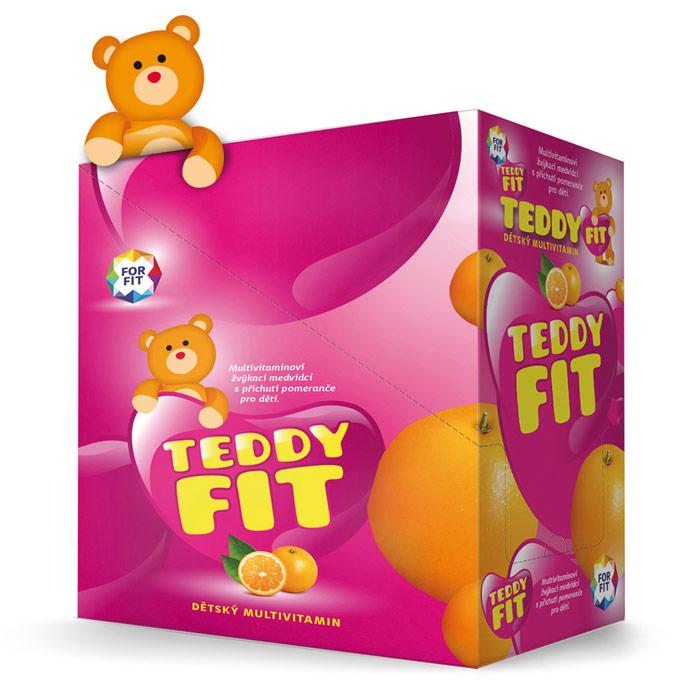 Teddyfit – multivitaminoví medvídci pro děti