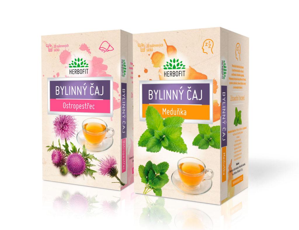 Nové bylinné čaje Herbofit